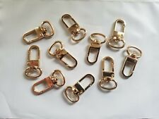10x Luggage Tag Swivel Hook for Louis Vuitton ,Bag Charm, Name Tag Clasp LV GOLD