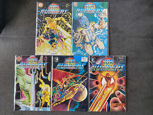 SUN RUNNERS 1-5 Comic Books (1984) PC Eclipse Lot Of 5 Broderick