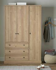 Kensington 3 Door 3 Drawer Wardrobe - Oak Effect