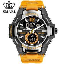 Reloj deportivo SMAEL resistente al agua para hombre, reloj de pulsera de 50 M,