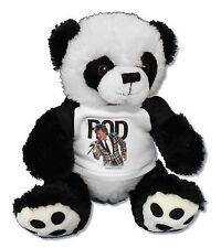 ROD STEWART PANDA BEAR FAN STUFFED ANIMAL NEW OFFICIAL BAND MUSIC