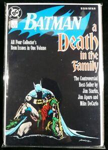 Batman: A Death in the Family TPB ~UNREAD! 1st Printing 9.4 NM (1988 DC) ~Robin~