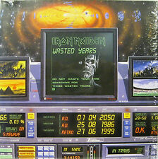 "IRON MAIDEN ""WASTED YEARS""  7' reissue sealed"