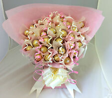 LARGE FERRERO ROCHER CHOCOLATE GIFT BASKET BOUQUET 34 ITEMS ANY OCCASION GIFT