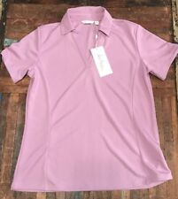 13dff3b04e43d Lady Hagen Womens Essentials SS Polo Purple Lilac Size M Retail  30 NWT