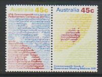 Australia - 2001, Commonwealth Heads of Government set - MNH - SG 2138/9