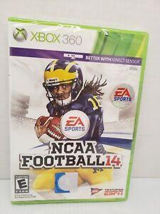 NCAA Football 14 Xbox 360 Brand New MINT Sealed 2014