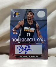 Autographed Orlando Johnson 2012-13 Totally Certified Rookie Roll Call Card #79