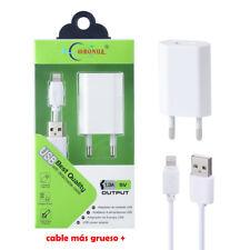 Cargador USB 1.3A + Cable Lightning 8 Pin Para IPhone SE/5/5S/5C/6/6S/7/8/PLUS/X