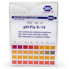 Macherey-Nagel pH-Fix Test Strips, 0-14. Pk/100