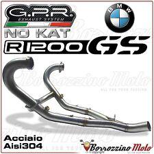 GPR COLLETTORI ACCIAIO NO KAT DECATALIZZATORE 2:1 PER BMW R 1200 GS 2013-2015