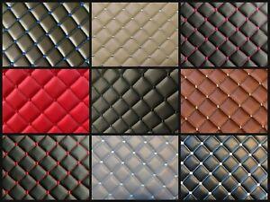 DIAMOND Pattern Stitch JDM VIP CAR INTERIOR Material 1 Yard x 1.5 Yards