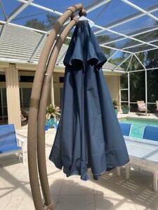 Sun Garden 11.5 T Umbrella Replacement Canopy, Cobalt Blue, Used Just 6 Months.