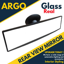Rear View Suction Cup Driving Instructor Safety Glass Mirror Wide Angle Blind