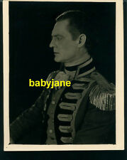 LIONEL BARRYMORE VINTAGE 8X10 PHOTO 1924 D.W. GRIFFITH'S AMERICA AS CAPT BUTLER