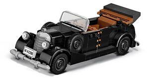 WWII 1938 Mercedes 770 (W150) - COBI 2407 - 225 Bricks