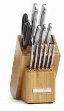 KitchenAid Classic Forged 14-Piece Brushed Stainless Knife Set