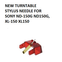 NEW TURNTABLE STYLUS NEEDLE FOR SONY ND-150G ND150G, XL-150 XL150