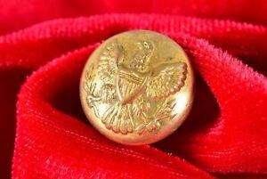 Indian Wars Orig General Service Button - Horstmann Philadelphia Celeb 16mm