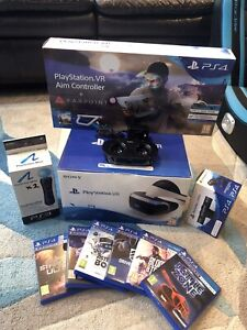 Sony PlayStation VR Launch Bundle VR Headset And Extras