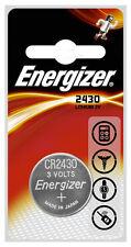Energizer 2430 3v Lithium Battery Cr2430 Dl2430