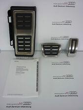 Originale Audi A3(8V)Calotte Pedale in Set per Automatico, Acciaio Inox Calotte