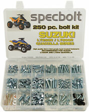 250 piece Bolt Kit Suzuki LT250R LT500R QUADZILLA ATV fender plastic Specbolt