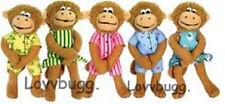 "One Monkey Mini Doll for 18"" American Girl Doll Widest Selection! Lovvbugg!"