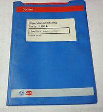 Reparatiebrochure VW Passat B3 / 35i Onderstel zelfdiagnose van 1988