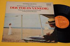 LUCHINO VISCONTI LP DER TOD IN VENEDIG COLONNA SONORA ORIGINALE GERMANY