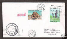 "Panama Sc 549-550 on 1980 US ""S.S. Calypso"" PAQUEBOT Cover, clean"