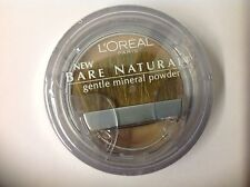 L'Oreal Bare Naturale Gentle Mineral Face Powder Sun Beige #420 New.