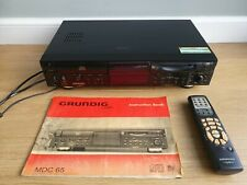 Grundig MDC65 CD & MINI DISC Player (Spares/Repairs) With remote & Instructions