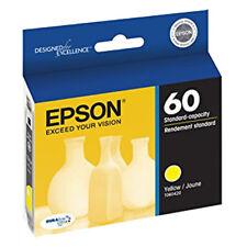 GENUINE Epson 60 Yellow Ink Cartridge Stylus C68 C88 CX3800, CX3810 CX4200