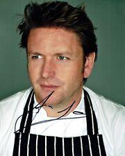 James MARTIN Saturday Kitchen TV Chef SIGNED Autograph 10x8 Photo 4 AFTAL COA
