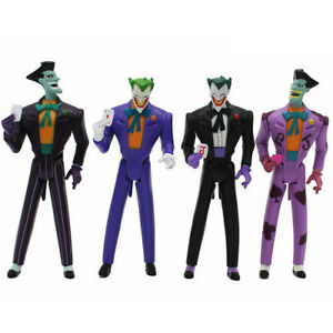 DC Justice League The Joker Superhero 4 PCS Action Figure Doll Gift Kids Toy