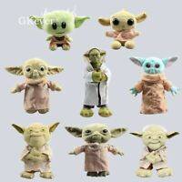 Stars Wars The Mandalorian Baby Yoda Plush Toy Soft Stuffed Doll Kids Xmas Gifts