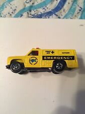 Vintage Emergency HOT WHEELS YELLOW Airship Support Team New VEHICLE LOOSE