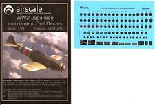 Airscale Decals 1/24 JAPANESE World War II INSTRUMENT DIALS