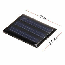 1.5V 0.05W 35mA Mini Solar Panel Module DIY for solar power Phone Toys Charger
