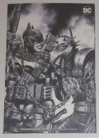 The Batman Who Laughs #4 Mico Suayan B&W Unknown Comics Variant