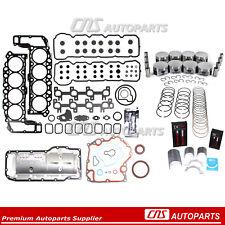 Full Gasket Piston Bearing Ring Set Rebuild Kit 04-07 Dodge Jeep 4.7L 287