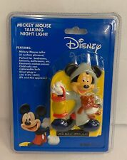Disney Mickey Mouse Talking Night Light