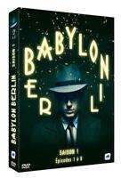 COFFRET DVD NEUF SERIE POLICIER THRILLER : BABYLON BERLIN SAISON 1 - ALLEMAGNE