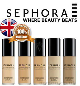 Sephora Collection 10HR WEAR PERFECTION FOUNDATION 15 colours GENUINE