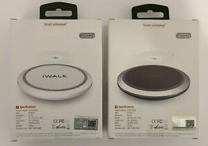 iWalk 10W Ultra Fast Wireless Charging Pad - Case Friendly for iPhone or Android