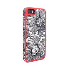 Speck FabShell Case iPhone SE 5S 5 FreshBloom Coral Pink Black - 20X