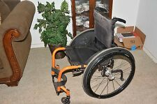 Quickie gt Wheelchair  w/ Spinergy Natural Fit Wheels