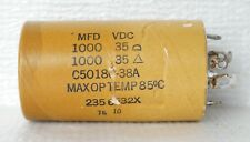 Electrolytic Capacitor 1000uf 35VDC for Fisher 400 Receiver :Part No.C50180-38A