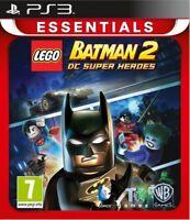 PS3 JUEGO LEGO BATMAN 2 II DC SUPER HEROES PARA PLAYSTATION 3 NUEVO